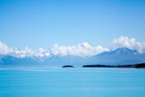 So blue at Lake Pukaki New Zealand