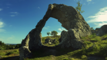 So I took this photo of a natural arch in Gotland Sweden last summer