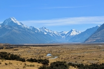 So Im packing my bags for the Misty Mountains Mount Cook New Zealand
