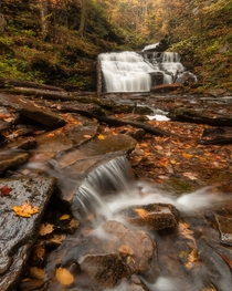 So many waterfalls in this park -Ricketts Glen Pennsylvania