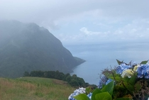 So Miguel island Azores Portugal Hauntingly beautiful on a cloudier day