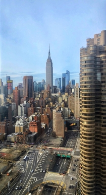 So nice they named it twice - view from the th floor of Midtown Manhattan