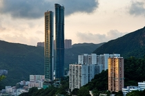 So tall yet so thin The Summit and The Highcliff otherwise known as the Hong Kong Chopsticks