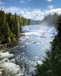 So want to go back againDawson Falls Wells Gray Provincial Park Canada