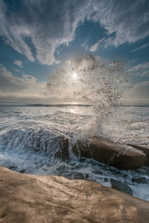 Soaking the Sun La Jolla California  X