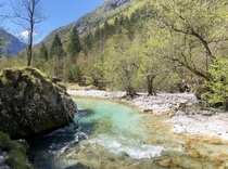 Soca valley Slovenia is breathtaking