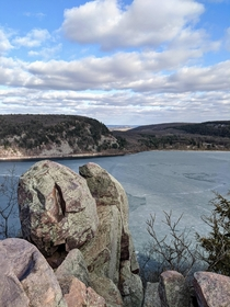 Social distancing in Wisconsin- Devils Lake