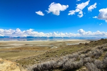 Social Distancing isnt so bad with views like this - Antelope Island Utah