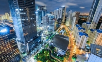 Sodium to LED streetlights in Taguig Philippines by Nicco Valenzuela