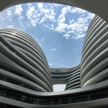 Soho Galaxy by Zaha Hadid in Beijing