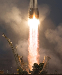 Sojus Rocket MS- Launch in Baikonur  Sept  Photo Bill Ingalls