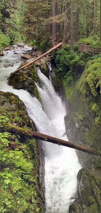 Sol Duc Falls Washington
