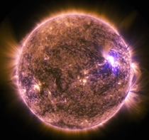 Solar Dynamics Observatory Sees M-Class Solar Flare
