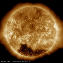 Solar Dynamics Observatory Welcomes the New Year