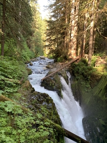 Soleduck Falls Washington USA