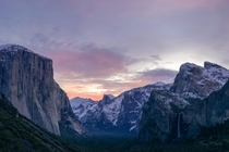 Solitary Sunrise at Tunnel View