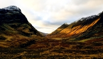 Solitude in Glencoe Valley Scotland OC -  x
