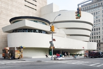 Solomon R Guggenheim Museum build by Frank Lloyd Wright New York