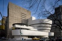 Solomon R Guggenheim Museum New York USA - by Frank Lloyd Wright