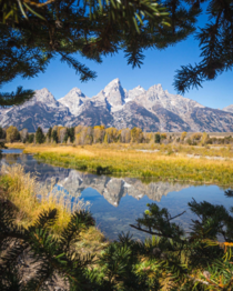 Some beautiful views are easily accessible like this one at Grand Teton National Park  ignatureprofessor