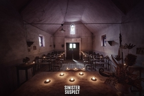Some candles and a tiny Belgian chapel - Sinister Suspect Urbex