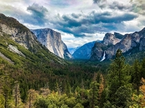 Some Classic Tunnel View Yosemite Valley California