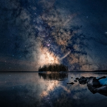 Some Milkyway Magic for these dark and trying times Sebago Lake Maine x