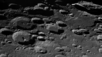 Some notable craters on the Moons southeast quadrant