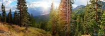 Some of the best light Ive ever witnessed let alone captured north Lake Tahoe Original pano is over Megapixels