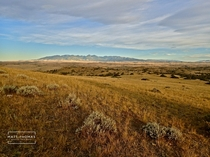 Some people think the world is too crowded Well Heres Montana Crazy mountain range  credit Matt Thomas