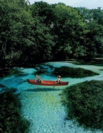 Some Turquoise Clear water in Slovenia
