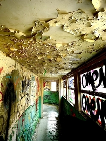 Somehow artistic and aesthetically pleasing even though its decay and ruin