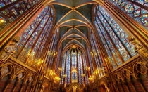 Someone posted a pic of the lower chapel of Sainte Chapelle This is the upper chapel