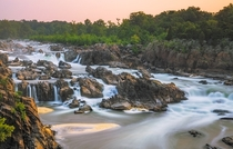 Something different than the usual EarthPorn fare Great Falls of the Potomac  miles outside of Washington DC