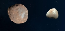 Something new and interesting I learned over lockdown Phobos and Deimos two moons by Mars Great names