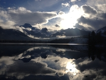 Sometimes there are no words Taken with my phone in Canmore AB