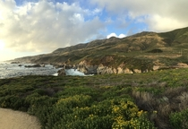 Somewhere between Big Sur and Carmel CA