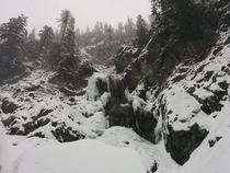 Somewhere on the Snoqualmie Mountain in classic Cascades weather