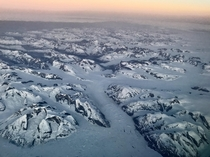Somewhere Over the Vast Icy Expanse of Greenland