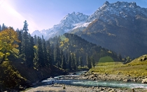 Sonamarg in Kashmir Valley India  By Debdutto Banerjee