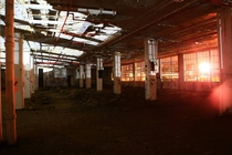 Soon to be demolished warehouse in New York City