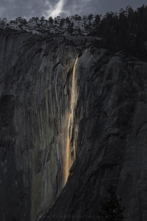 Soul of Yosemite - Horsetail Falls -  - oc