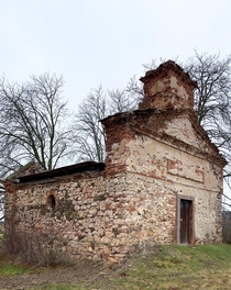 Sounds horrible but this is an abandoned crypt Borek Czech Republic