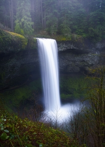 South Falls in Silver Falls State Park Oregon by Casey McCallister