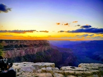 South Rim of Grand Canyon cant remember exact location  Sorry