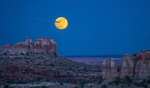 South Utah Moonrise