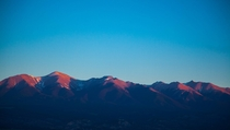 Southern Colorado Rocky Mountains at sunrise photo by Paul Hairston