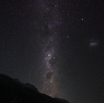 Southern Milkyway from a very remote valley in New Zealand