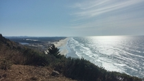Southern Oregon coastline looking towards Coos Bay OR