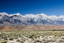 Southern peaks of the Sierra Nevada including Mt Whitney the highest peak in the contiguous USA